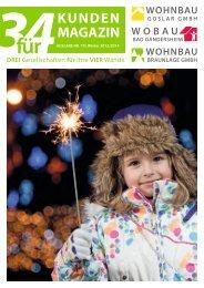 3für4 Winter 2013/14 - wohnbau goslar gmbh