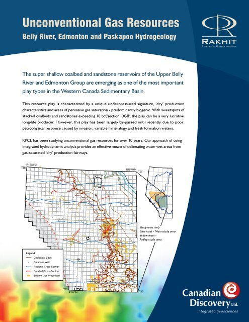 Belly River, Edmonton and Paskapoo Hydrogeology - Canadian ...