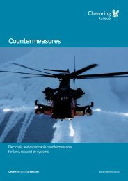 Countermeasures - Chemring Group PLC