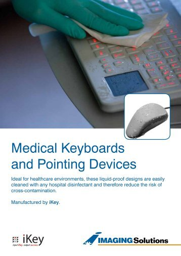 Medical Keyboards and Pointing Devices - Imaging Solutions