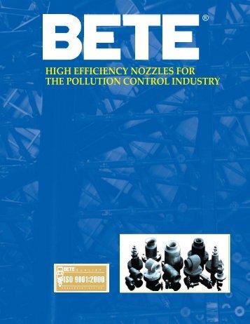 BETE Pollution Control - BETE Fog Nozzle, Inc.