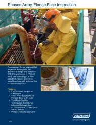 PHASED ARRAY FLANGE FACE INSPECTION - Oceaneering