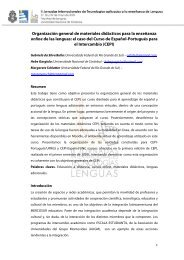 Organización general de materiales didácticos para la ... - SCoPE