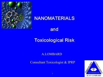 NANOMATERIALS and Toxicological Risk - brighter.eu