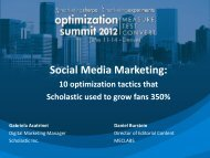 Case Study – Social Media Marketing - meclabs