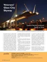 Glass City Skyway - Aspire - The Concrete Bridge Magazine