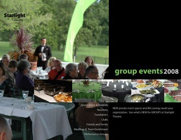 group events - Starlight Theatre