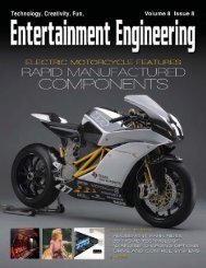 High-Performance Electric Motorcycle Features Rapid Manufactured ...