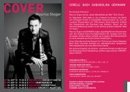 download programm cover - Chaarts