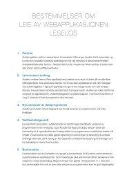 Leie av programvare - Lesesenteret - Universitetet i Stavanger
