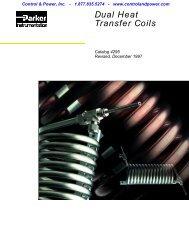 Parker Dual Heat Transfer Coils - Eoss.com