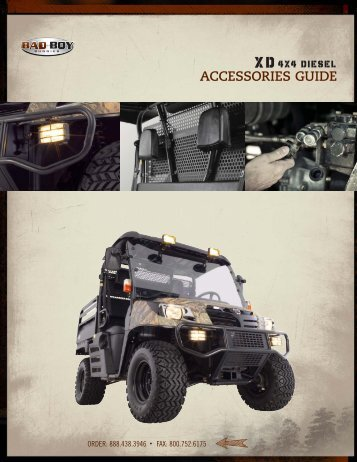 BBB XD Accessories Guide.indd - Bad Boy Buggies