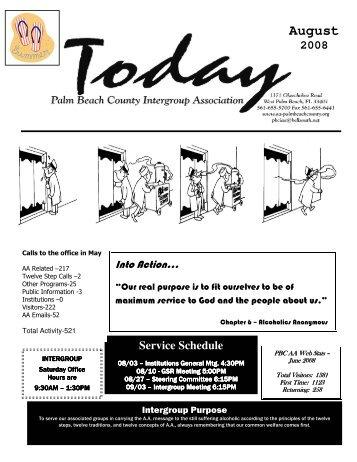 8 free Magazines from AA.PALMBEACHCOUNTY.ORG