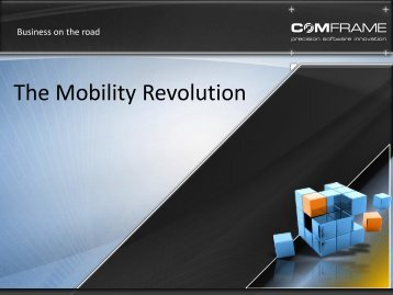 the mobile revolution Mobile commerce sales are expected to rise to $32 billion next year which will not only mark a massive increase from the $10 billion that was generated in 2012, but also account for over 7% of all ecommerce sales.