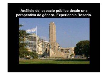 Plaza Homero Manzi - Red Mujer y Hábitat de América Latina