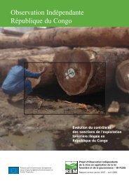 Observation Indépendante République du Congo - Forests Monitor
