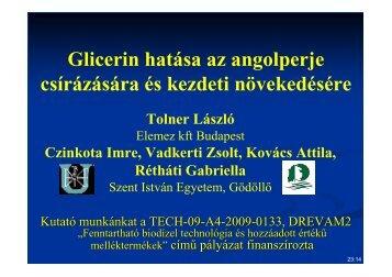 Presentation - Szent István Egyetem