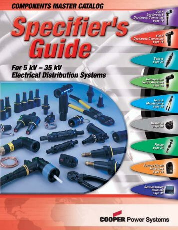 02024 Components Specifier's Guide - Isiesa