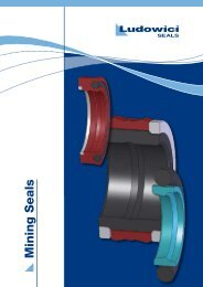 Mining Seals - Industrial and Bearing Supplies