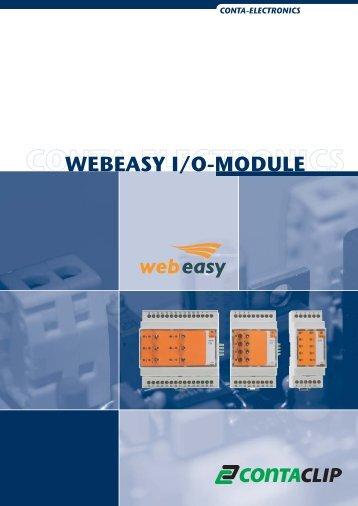 Webeasy E/A Module - CONTA-CLIP