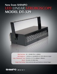 LED LINEAR STROBOSCOPE MODEL DT-329 - Gaging.com