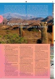 Argentinien - SKR Reisen