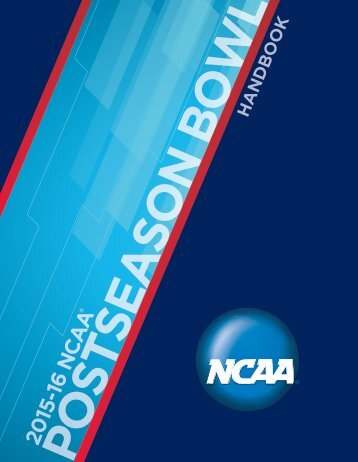 2015-16 Postseason Bowl Handbook