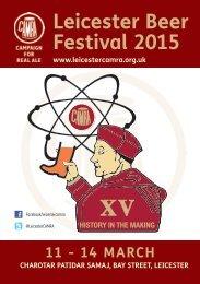 Beer-Festival-Programme