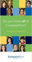 Program Guide - CompassPoint Nonprofit Services