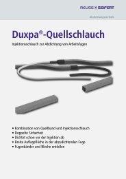 Duxpa Quellschlauch - Reuss-Seifert GmbH