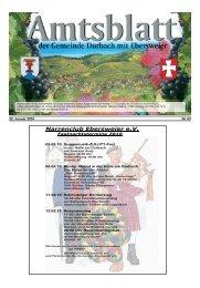 Ökumenische Fastenwoche 2010 - Durbach
