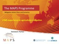 South Africa (LTMS) - Mitigation Action Plans and Scenarios (MAPS)