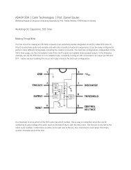 AD409 S09 | Calm Technologies | Prof. Daniel Sauter