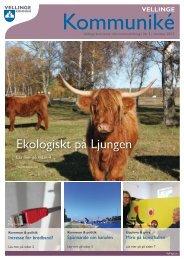 Ekologiskt på Ljungen - Vellinge kommun