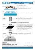 Verlegeanleitung LORO-VERSAL® Schnellabläufe - Seite 2