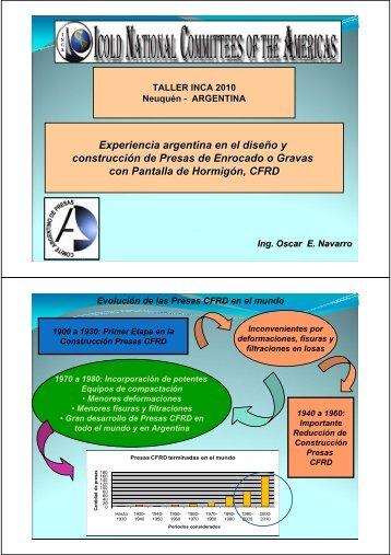 Navarro (Argentina) - Comité Argentino de Presas