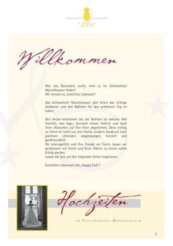 Hochzeitsmappe (PDF) - Hannover Locations