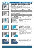 Verlegeanleitung LORO-DRAINJET® Attika-Schnellabläufe - Seite 2