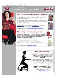 21-09-2011 - Gaertner Ergonomische Meubelen bv