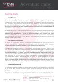 Sail to Komodo Dragons April to October - Whistling Arrow - Page 3