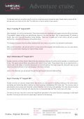 Sail to Komodo Dragons April to October - Whistling Arrow - Page 5