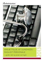 Elektronisk udgave - Sundhedsstyrelsen