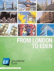 London, Bath and the Eden Project - EF Educational Tours