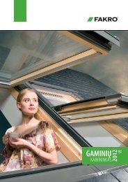 Fakro stoglangių, stogo langų gaminių katalogas ... - Stogdengiai.lt