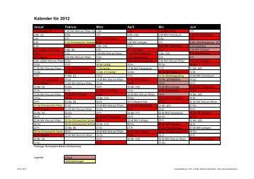 im Laufkalender 2012 - Ski-Club Weil am Rhein 1964 eV