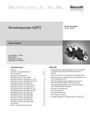 Konstantpumpe A2FO - Group VH A/S