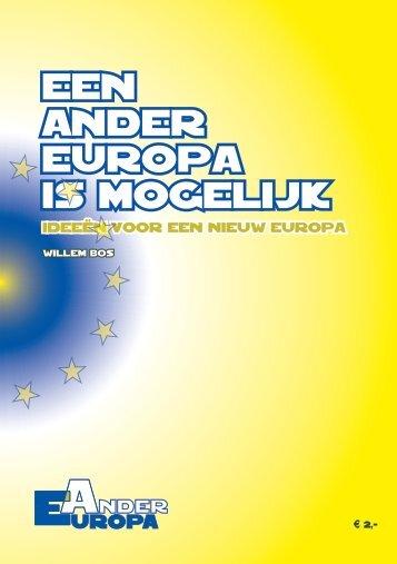 Een ander Europa is mogelijk