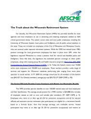 Retirement System - AFSCME