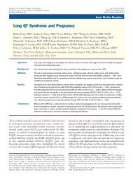 Long QT Syndrome and Pregnancy - SADS Foundation