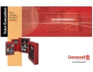 Fire Alarm Control Panel - Gamewell-FCI